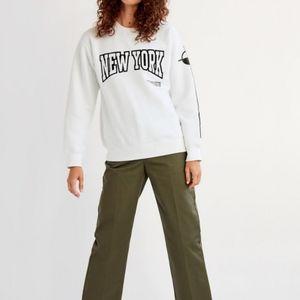 Aritzia TNA the perfect crew sweatshirt S New York